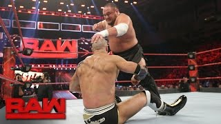 cesaro vs samoa joe raw feb 27 2017