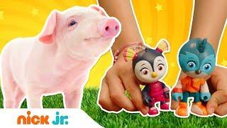 У Отважных птенцов проблема с милой свинкой | Ферма игрушек