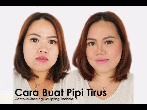 Cara Bikin Pipi Tirus Tutorial Shading Contouring Sculpting Youtube