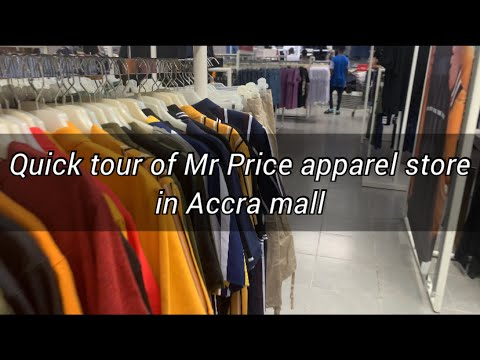 Quick tour of Mr Price in Accra Mall, Ghana.
