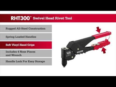 RHT300 Swivel Head Rivet Tool
