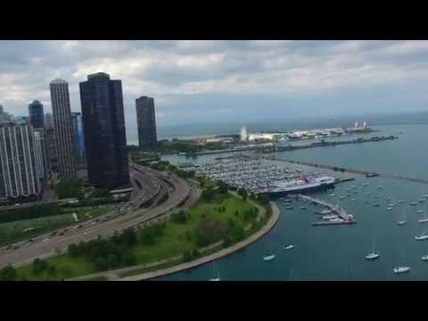 4k DRONE Summer in Chicago