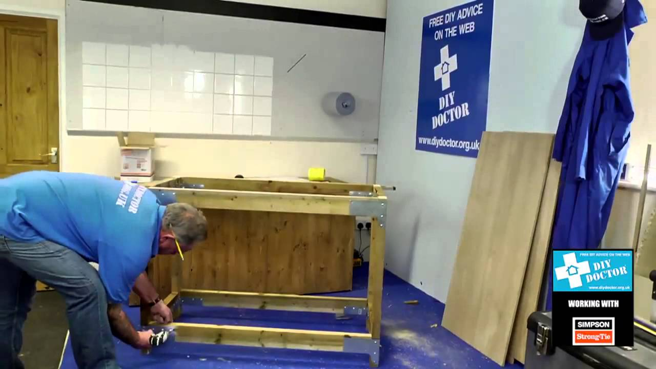 How To Build A Work Bench Using The Simpson Strong Tie