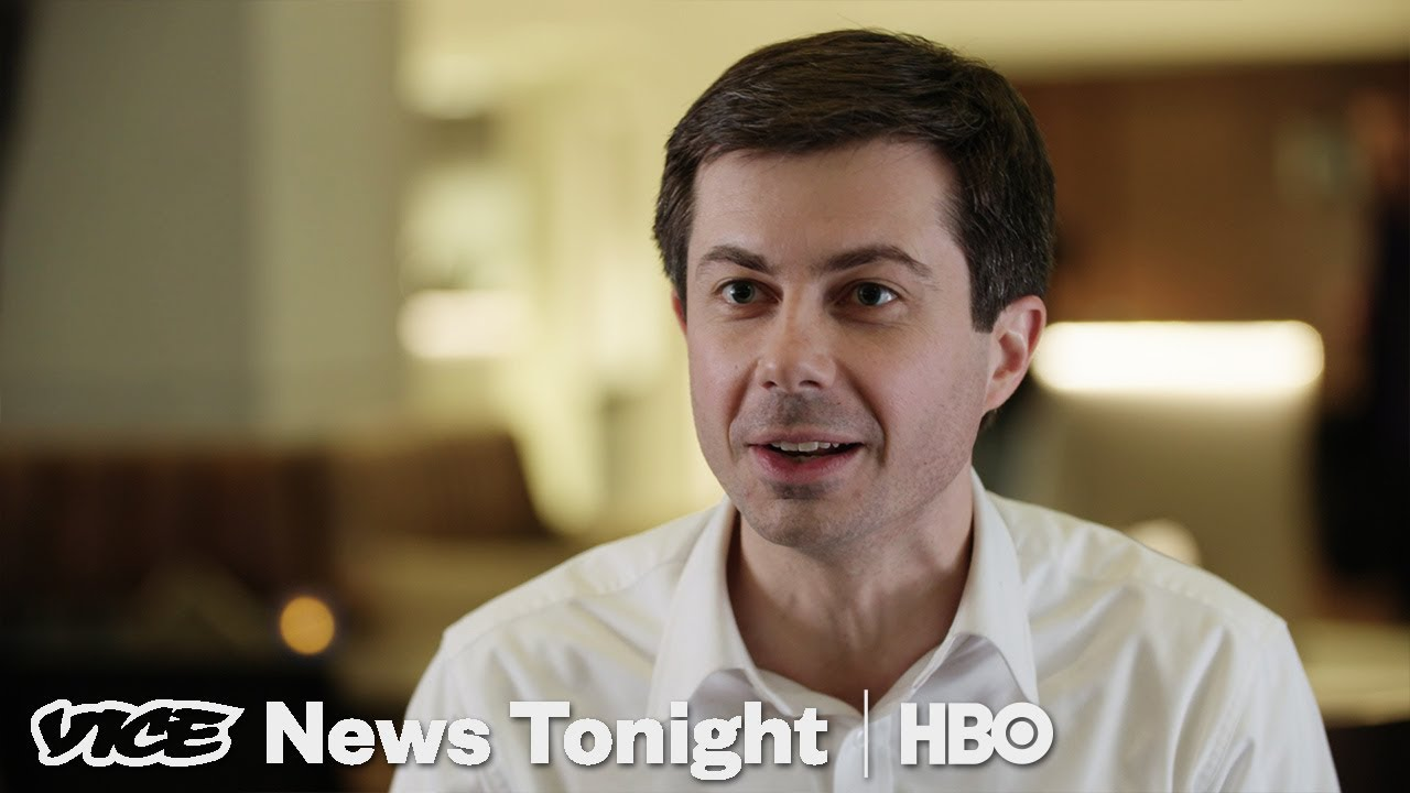 Image result for photos pete buttigieg