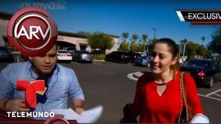 Esposa de Larry Hernández no quiere hablar de su demanda de divorcio | Al Rojo Vivo | Telemundo