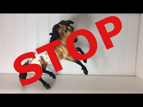 Breyer horses that SHOULDN'T rear