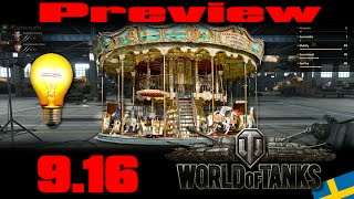 World of Tanks- Preview 9.16 - Spot, Event, et Paillettes