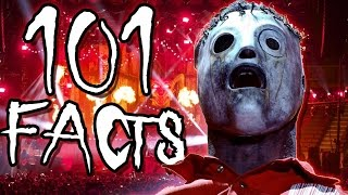 101 Slipknot Facts You Probably Didn't Know! (101 Facts) | The Week Of 101's #3