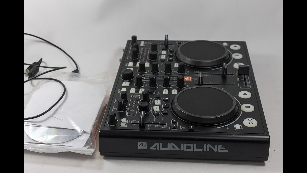 AUDIOLINE DJ CONTROLLER DRIVER DOWNLOAD
