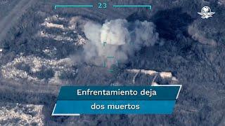 """El Ministerio de Defensa armenio dijo que dos helicópteros azerbaiyanos fueron derribados; el portavoz presidencial, Ibrahim Kalin, comentó que """"Armenia ha violado el cese del fuego al atacar asentamientos civiles"""""""