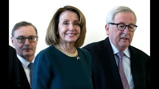 Nancy Pelosi on US - EU relations after meeting with Juncker