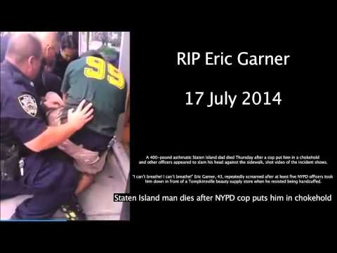 Police Brutality,  'Eric Garner' choked to death for nothing