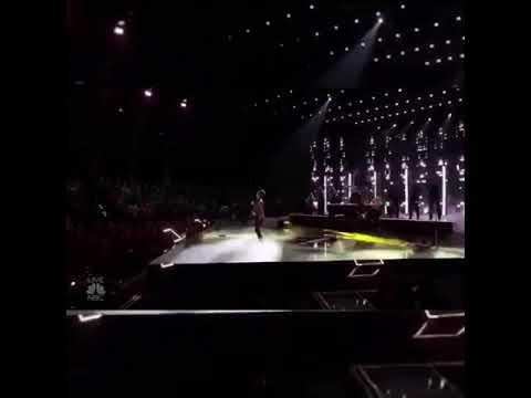 Panic! at the disco preform say amen (Saturday night) on NBC The voice