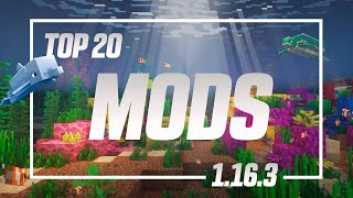 Top 20 Mods Para Minecraft 1.16.3