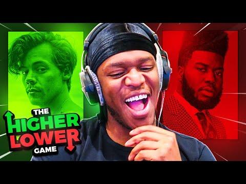 SIDEMEN HIGHER OR LOWER (Spotify Monthly Listeners 3) - MoreSidemen