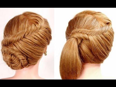 2 прически на каждый день. Плетение рыбий хвост. Easy fishtail braid hairstyles