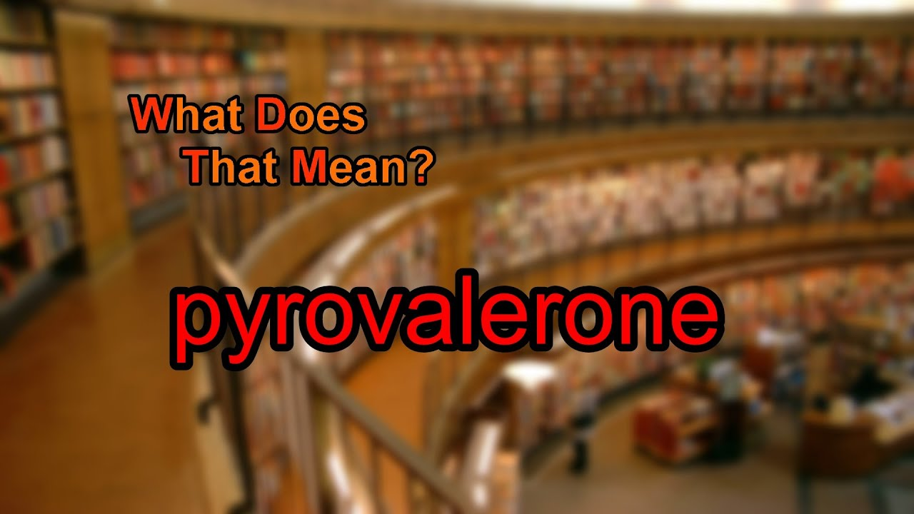 Pyrovalerone - Alchetron, The Free Social Encyclopedia