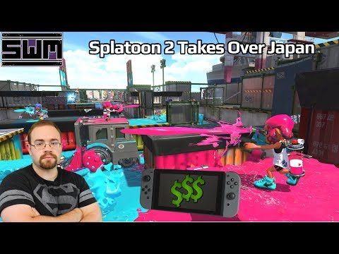 News Wave! - Splatoon 2 and Nintendo Switch Sales Explode In Japan
