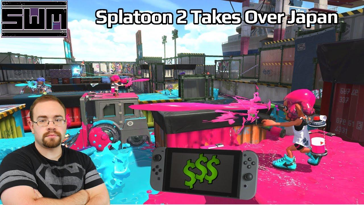 Splatoon 2 Helps Nintendo Boost Sales