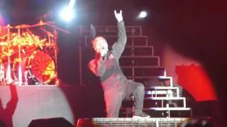 Slipknot The Heretic Anthem Psychosocial en Lima Peru 2016