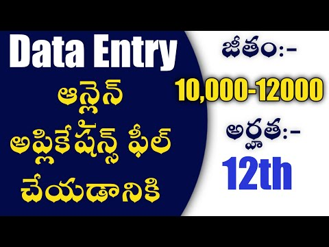 data-entry-jobs-2020|latest-private-jobs-10th-12th-pass-jobs-apply-online-form|job-details-hyderabad
