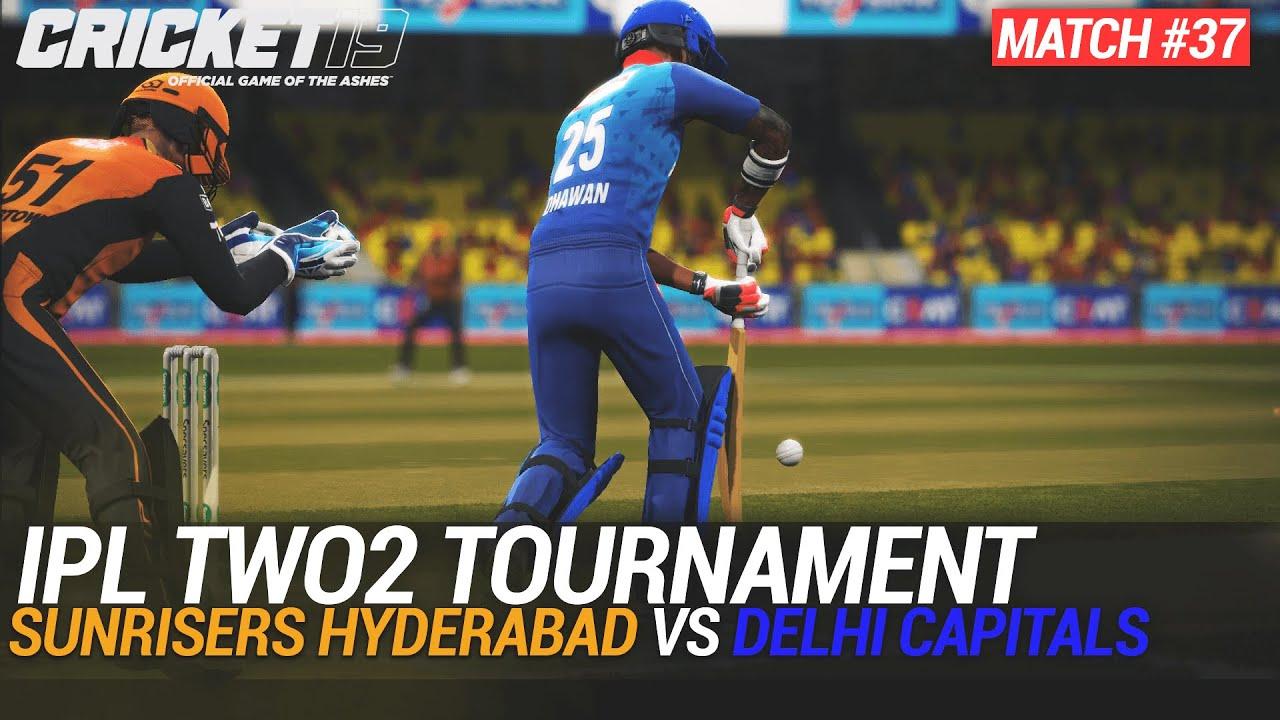 CRICKET 19 - IPL2020 TWO2 - MATCH #37 - SUNRISERS HYDERABAD vs DELHI CAPITALS