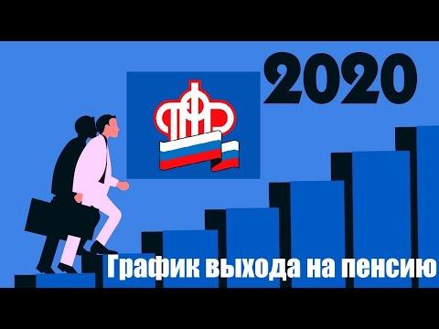 Новый график выхода на пенсию в 2020 году