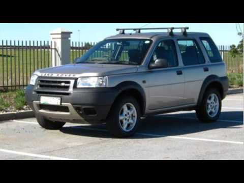 land rover freelander td4 2001 youtube. Black Bedroom Furniture Sets. Home Design Ideas