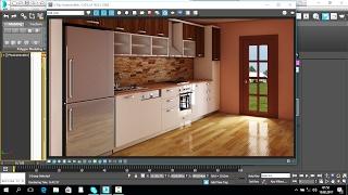 3ds Max Vray Mutfak Modelleme Bölüm-2 - 3ds Max Vray Kitchen Modeling Part-2
