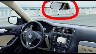 How to remove rear view mirror VW, Skoda, Audi, Seat in 2 seconds