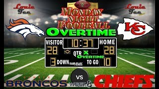 2017 LIVE! NFL Analysis | Broncos vs. Chiefs WK 8 | MNF OVERTIME #LouieTeeLive 2017 Video