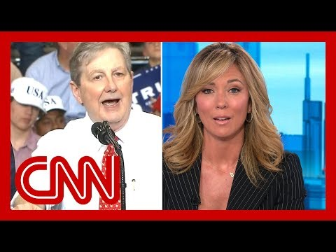 CNN anchor reacts to Sen. Kennedy's Pelosi insult