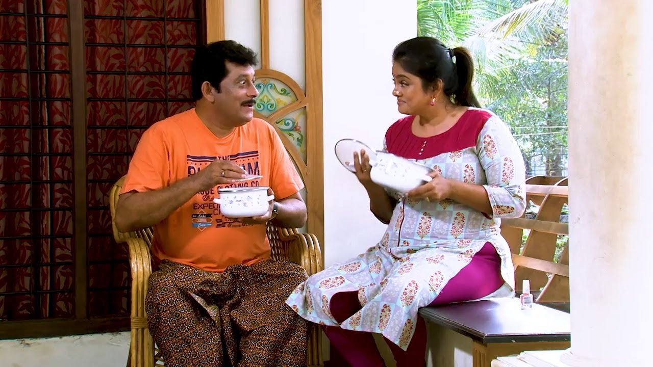 Thatteem Mutteem l Revenge through food? l Mazhavil Manorama