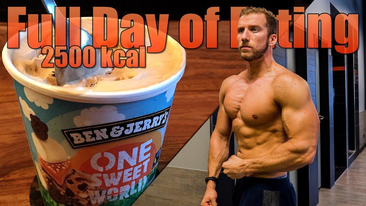 2500 kcal per dag