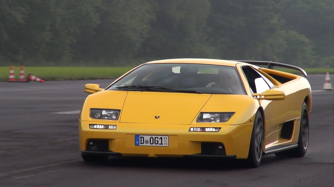 Lamborghini Diablo Vt 6 0 V12 Pure Exhaust Sounds Youtube