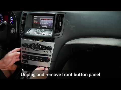 Infiniti G37 2009-2013 Stereo Removal And VLine NISK Installation - Part 1