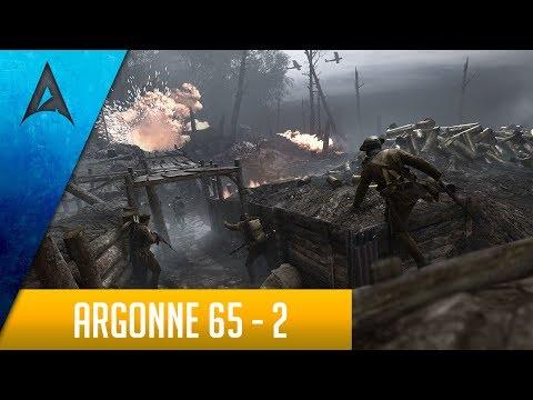 Battlefield 1 Sniping: Argonne Forest 65 - 2 (Perfect Operation) Aggressive Sniping G95 Killstreaks