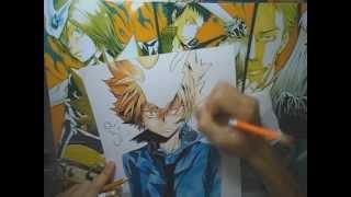 Speed Drawing Tsunayoshi - KHR!