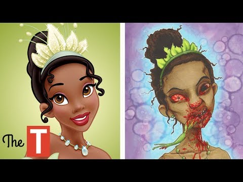 Thumbnail: 10 Disney Characters Reimagined As MONSTERS