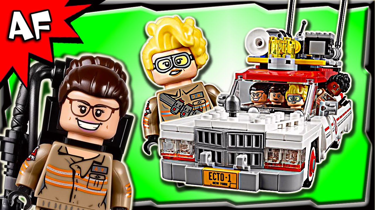 "Ghostbusters /""Ecto-1 /& 2/"" Minifigure Minifigs Erin Gilbert NEW LEGO 75828"