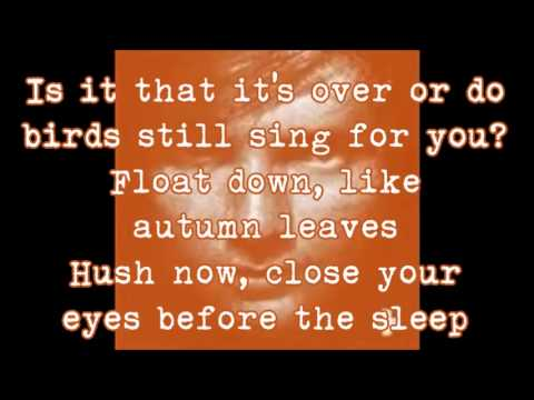 Ed Sheeran - Autumn Leaves (lyrics)