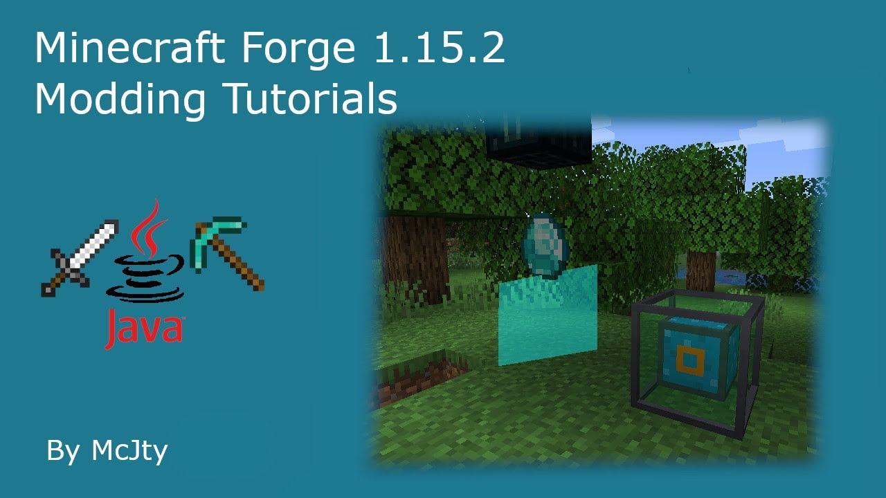 Minecraft Forge Mod Development Tutorial for 122.1225/122.1226: Episode 122122