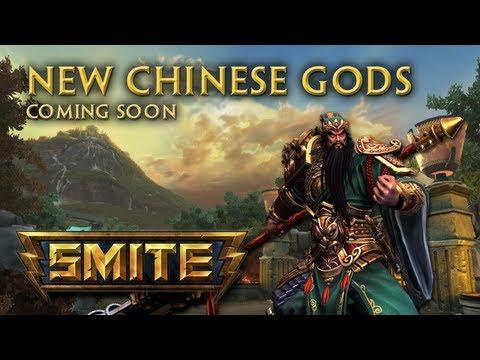 SMITE - New Chinese Gods