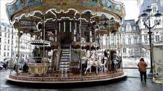 MANÈGE CARROUSEL LA BELLE ÉPOQUE BERTAZZON PLACE DE LHÖTEL DE VILLE PARIS YouTube Videos