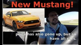 Ford Mustang GT, quick take review, driving a $50,000 Mustang on a track.