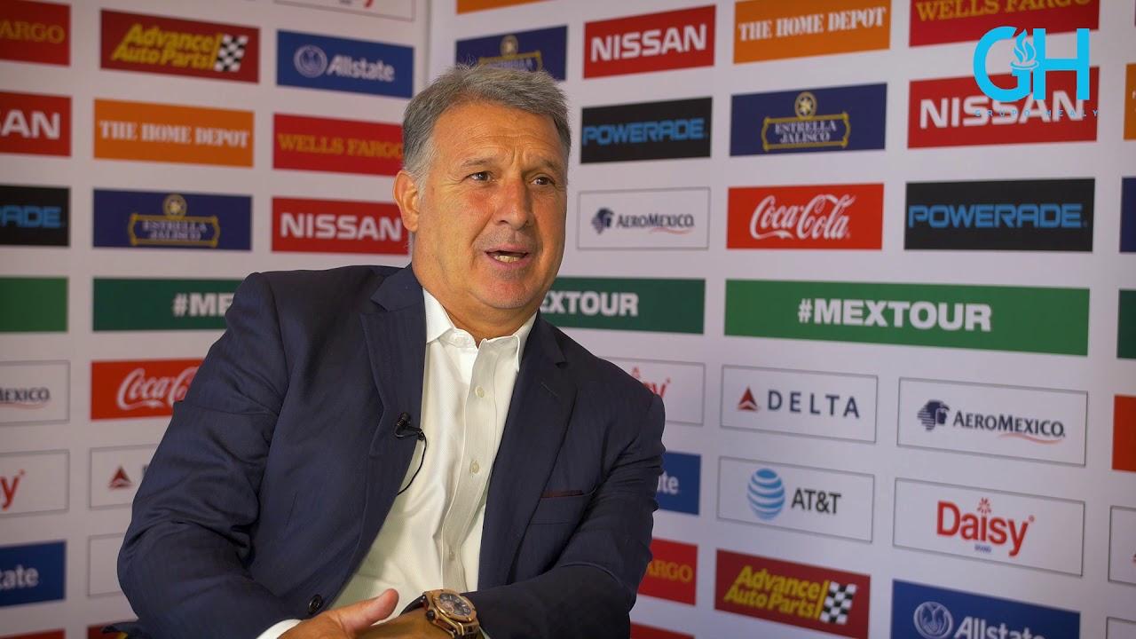 """""""Tata"""" Martino debut oficialmente al frente de Mxico con ..."""