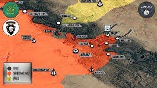 19 сентября 2017. Военная обстановка в Сирии. Сирийская армия пересекла Евфрат и ведет наступление