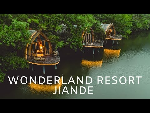 Hangzhou China - Wonderland Resort Jiande Fuchun 5 Star Hotel | China Travel 富春江船屋 4k