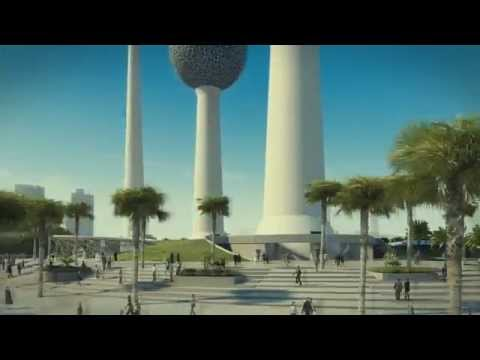 Kuwait Tower – Sweco vision