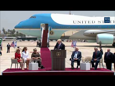 President Trump Remarks at Arrival Ceremony